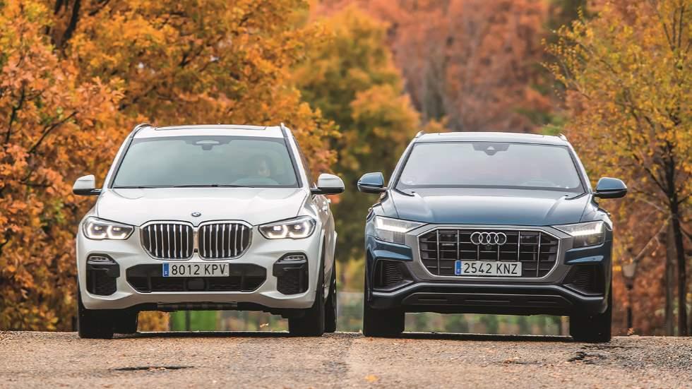 Audi Q8 vs BMW X5: comparamos dos SUV superdotados