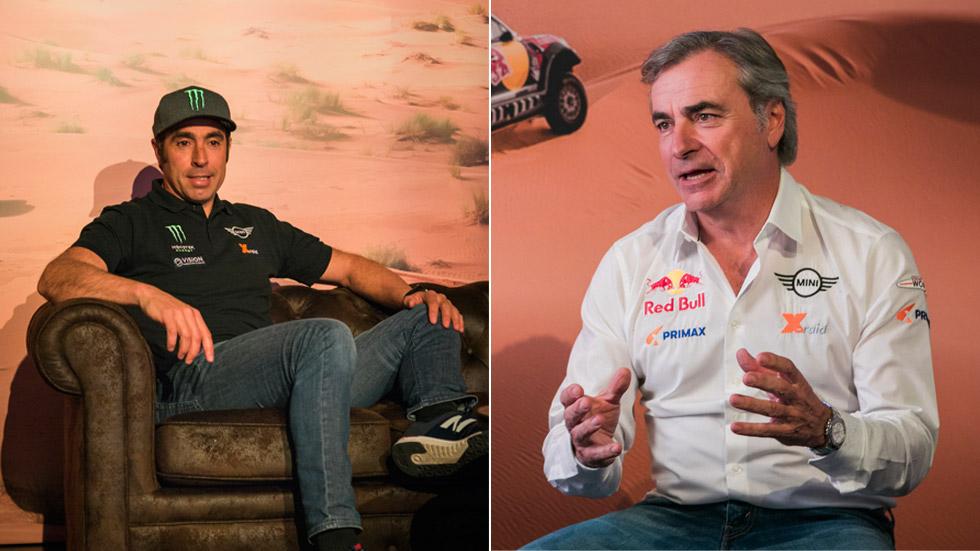 Carlos Sainz y Nani Roma: a por la victoria en el Dakar 2019 con Mini