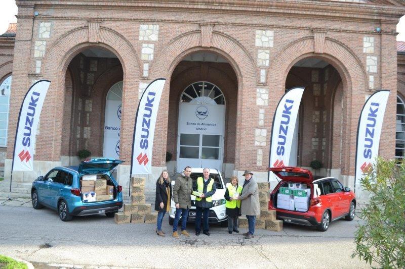 Suzuki entrega más de 3.000 kg de comida a los más necesitados