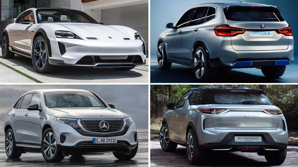 Ofensiva anti-Tesla: los 32 coches eléctricos que llegan hasta 2024