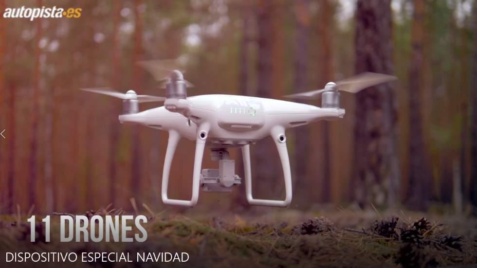 Así te multará la DGT estas Navidades: drones, helicópteros, radares Veloláser... (Vídeo)