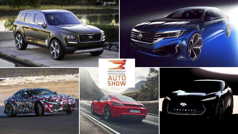 Las mejores coches y SUV del Salón de Detroit 2019: Passat, Supra, Explorer, 718 T…