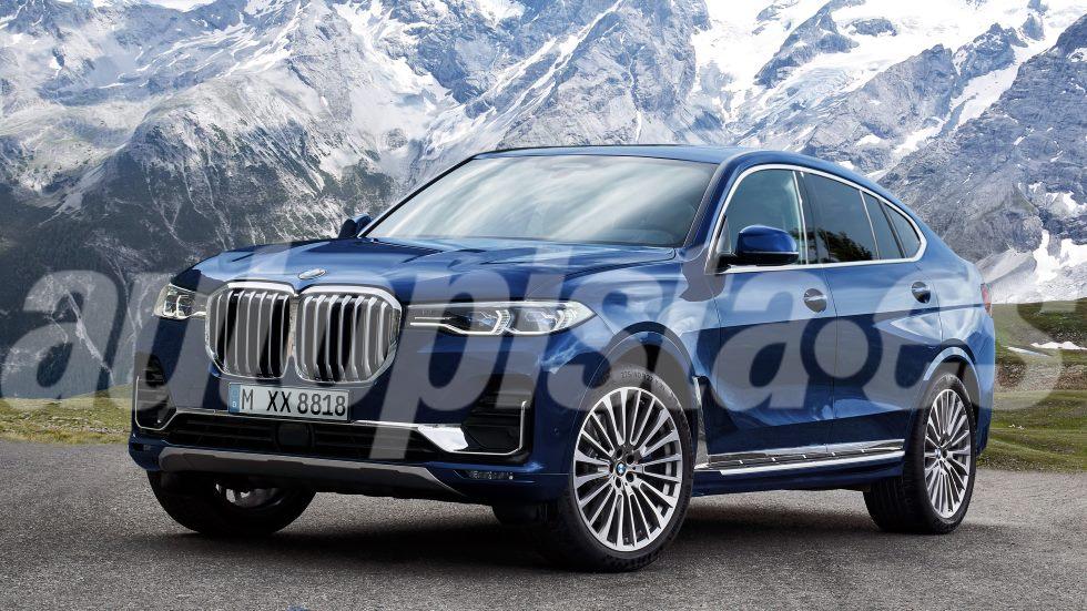 BMW X8: nuevas fotos y datos del próximo mega SUV coupé de lujo