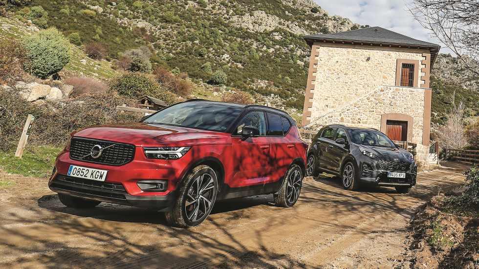 Kia Sportage 2.0 Mild Hybrid vs Volvo XC40 D4: ¿qué nuevo SUV es mejor?