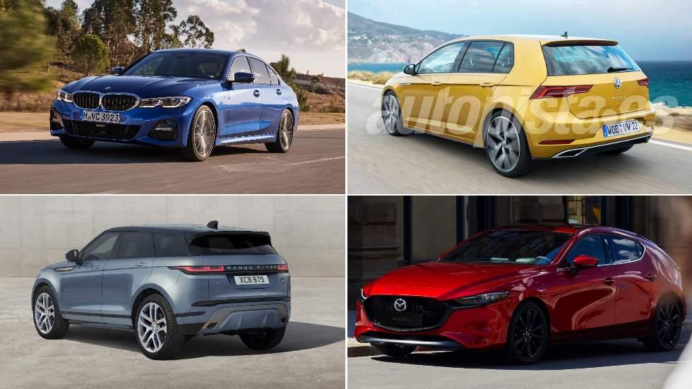 Los 10 mejores coches y SUV de 2019: Serie 3, Golf, Mazda3, Evoque, Corolla…