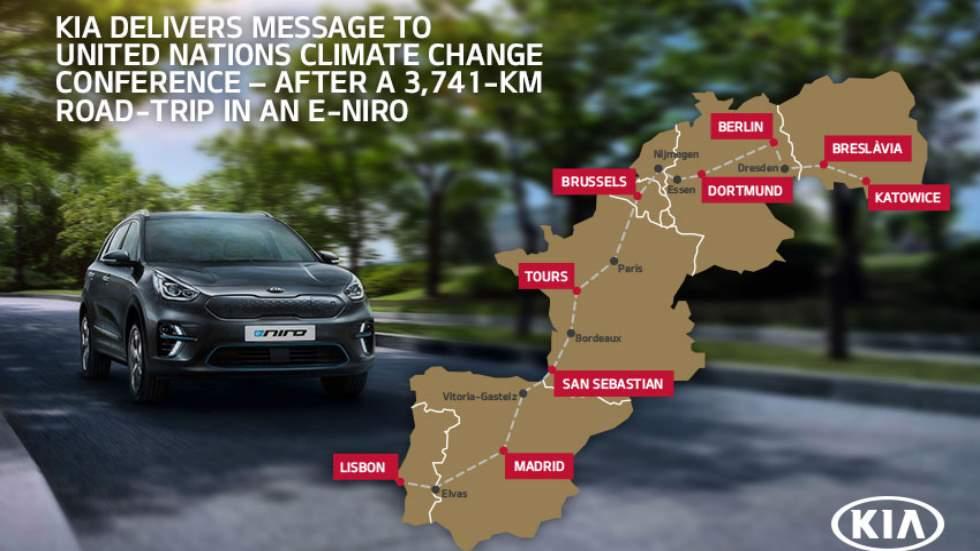 ¿Recorrer casi 4.000 km con un coche eléctrico? Sí, es posible