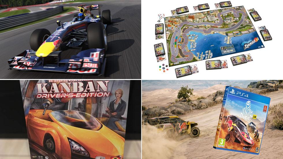 5 videojuegos y juegos de mesa de coches que pedir a los Reyes