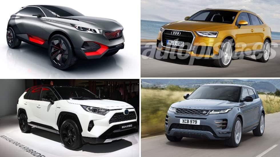 Los 10 mejores SUV de 2019: RAV4, Evoque, Kuga, 2008, Q4…