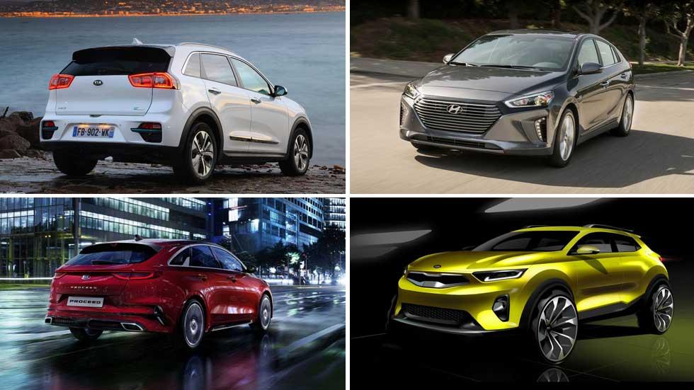 Todo lo nuevo de Hyundai y Kia en 2019: i30 N Fastback, Proceed, Soul EV…