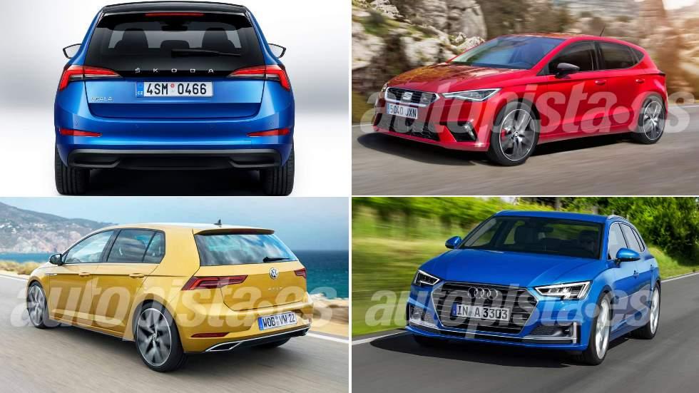 Los mejores compactos de 2019: Golf, A3, Astra, Scala, Mazda3, León…