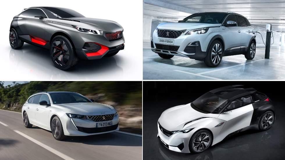 Lo Mejor De Peugeot En 2019 208 2008 508 Sw Y 3008 Hybrid