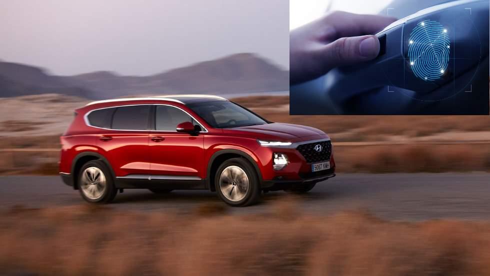 Hyundai Santa Fe 2019: el SUV que se abre y arranca con tus huellas dactilares