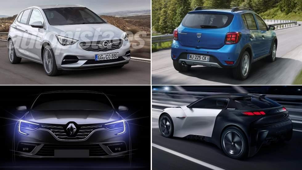 Los mejores coches pequeños de 2019: 208, Corsa, Clio, Sandero…