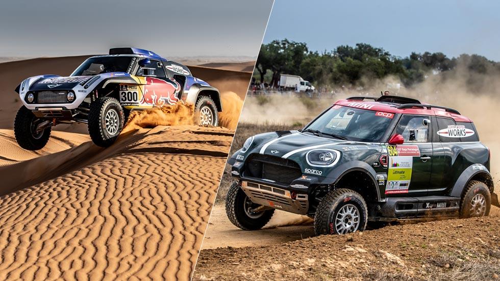 Dakar 2019: Mini JCW Buggy y JCW 4x4, ¿cuál es mejor? (vídeo)