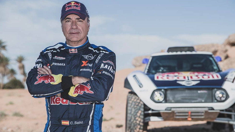 Dakar 2019, entrevistamos a Carlos Sainz: a por la tercera corona con Mini