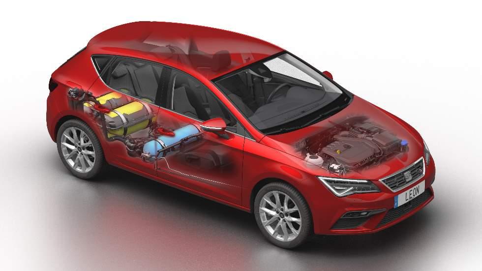Seat León 1.5 TGI Evo 2019: así es el nuevo compacto de gas