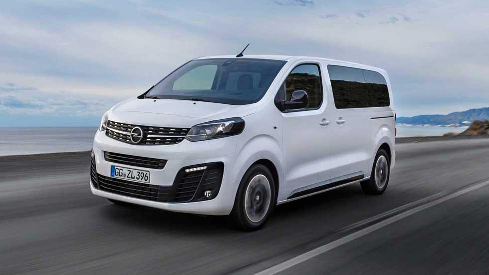Opel Zafira Life, con tres carrocerías y hasta 9 plazas
