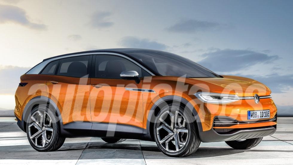 VW ID Crozz: así es el nuevo SUV de Volkswagen que llega en 2020