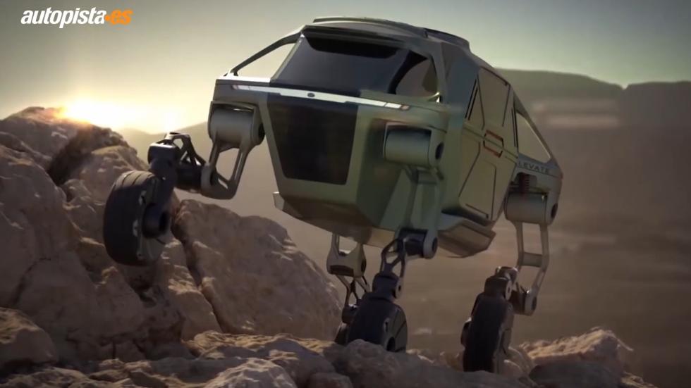 """Hyundai Elevate: así es y así funciona el nuevo vehículo """"walking car"""" (VÍDEO)"""