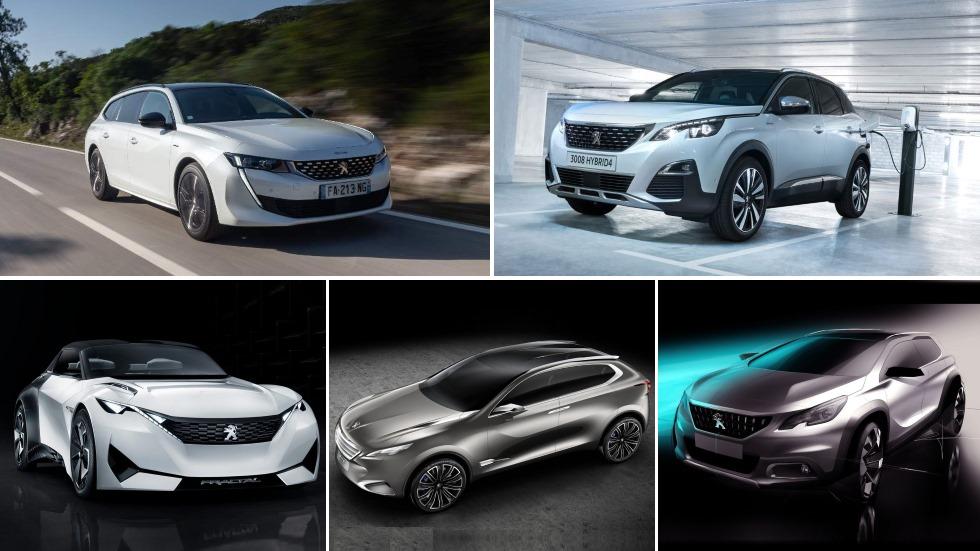 Todos los nuevos coches y SUV de Peugeot hasta 2024: 7008, 208, 308, 2008, 3008…