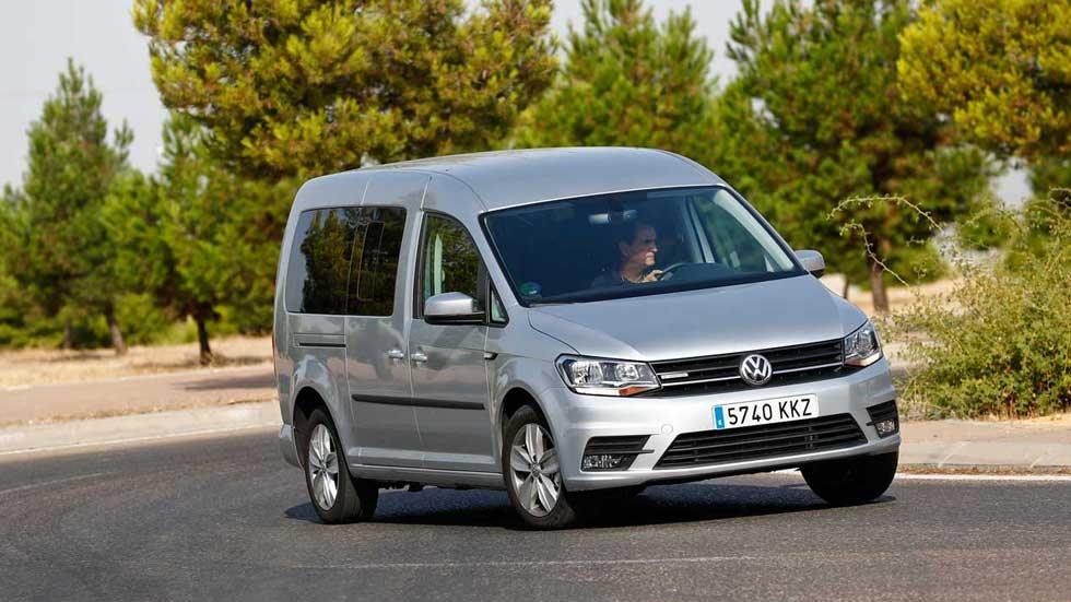 Volkswagen Caddy Maxi TGI, el comercial de gas natural con etiqueta ECO