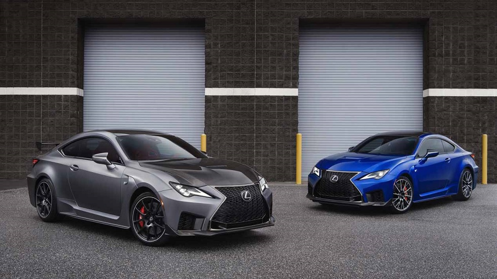 Lexus RC F Track Edition, el plato fuerte deportivo en el Salón de Detroit 2019