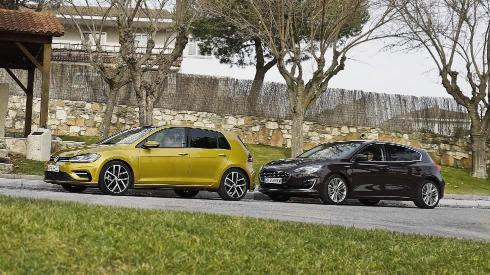 Ford Focus 1.5 Ecoboost vs VW Golf 1.5 TSi: ¿qué compacto de gasolina es mejor?