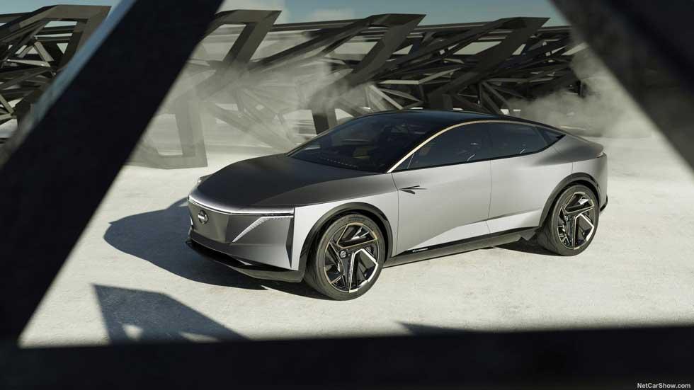 Nissan IMS Concept: ni SUV ni sedán, pero sí eléctrico y autónomo