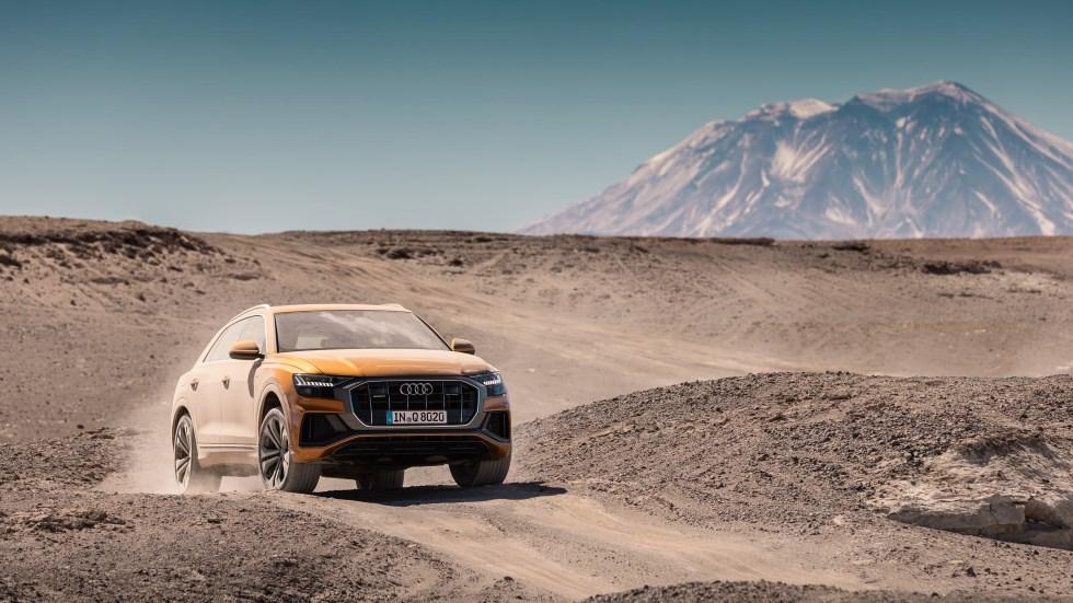 Lo mejor del desierto de Atacama, en ruta con el nuevo Audi Q8