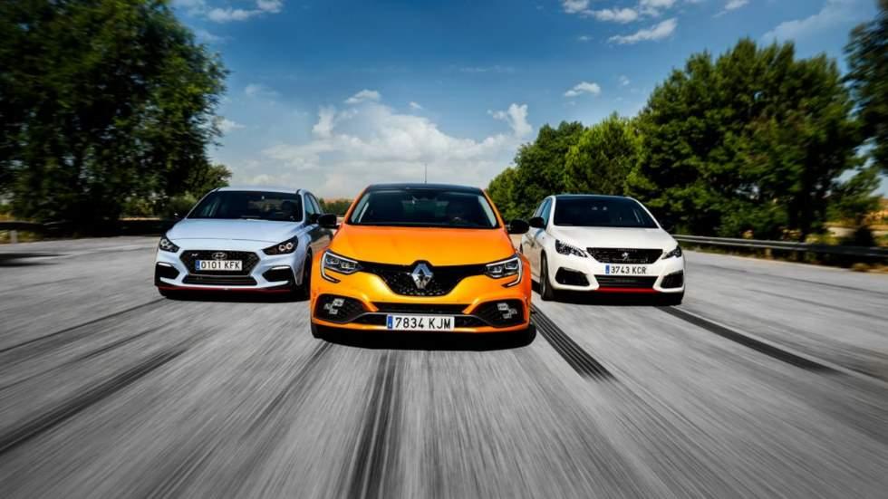 Hyundai i30N Performance, Peugeot 308 GTi y Renault Mégane RS: ¿cuál es el mejor deportivo?
