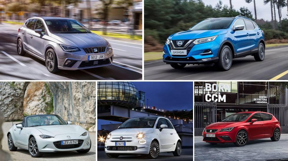 Todos los coches y SUV más vendidos del mercado en 2018, en sus 14 categorías