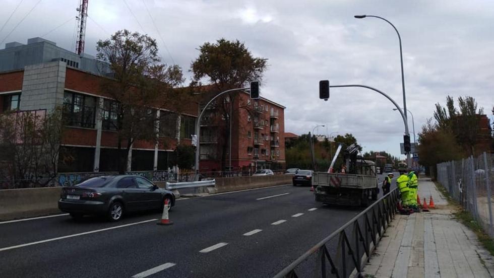 Todo sobre el nuevo radar de tramo instalado en Madrid