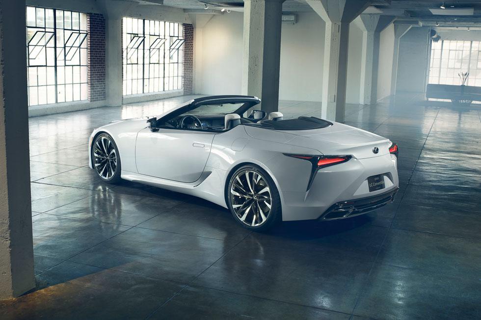 Lexus LC Convertible Concept: ¿llegará a producción?