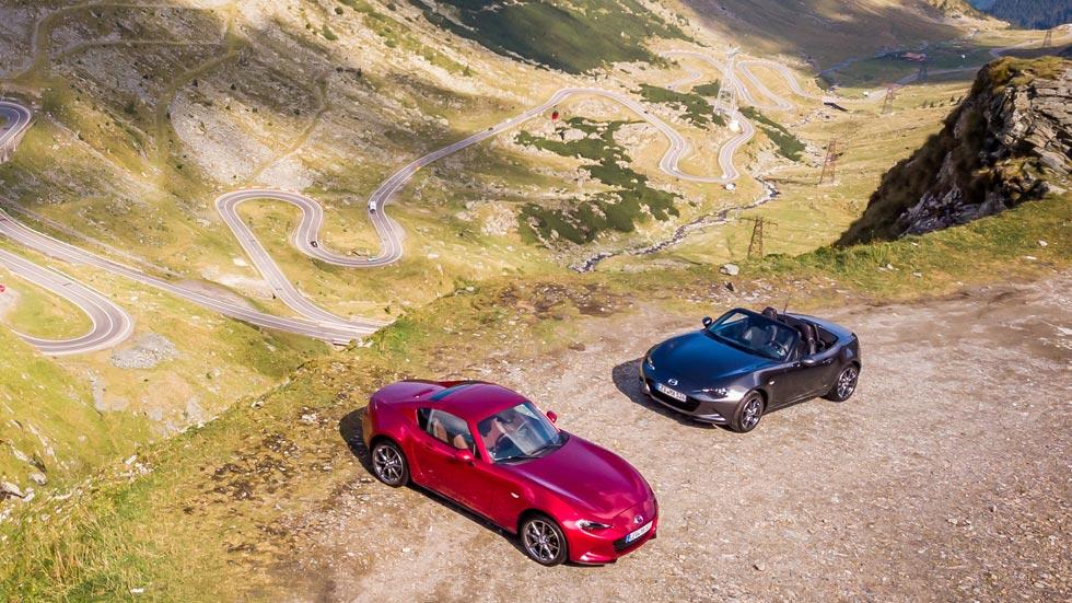 Conducimos la Transfăgărășan: el Mazda MX-5, por la carretera de Drácula