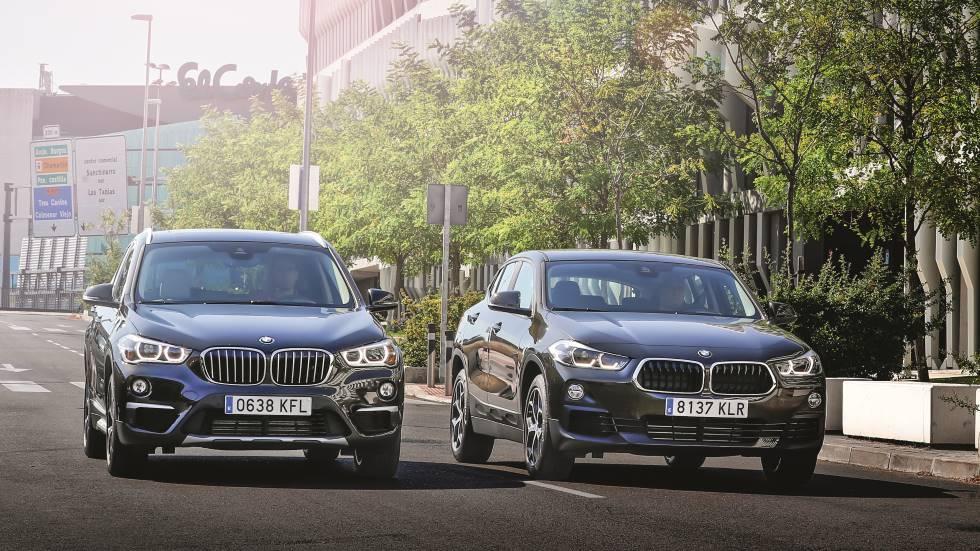 Comparativa: BMW X1 18d vs BMW X2 18d, ¿qué SUV compacto interesa más?