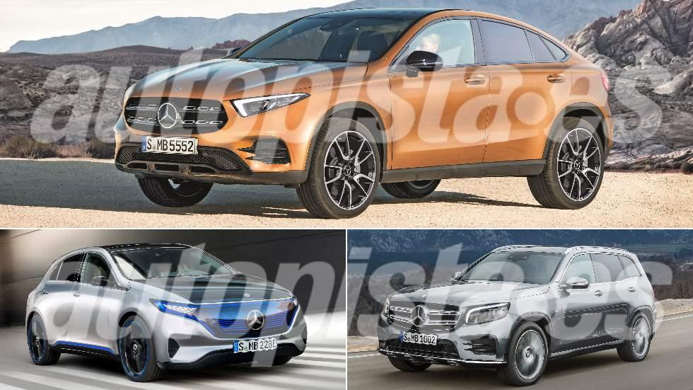 Autopista 3085: los nuevos Mercedes que vienen (GLB, GLA Coupé, EQA…)