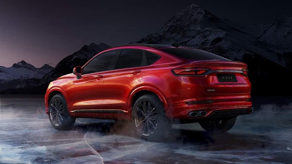 Geely FY11: nuevo SUV coupé chino con diseño de BMW X4 y ADN de Volvo