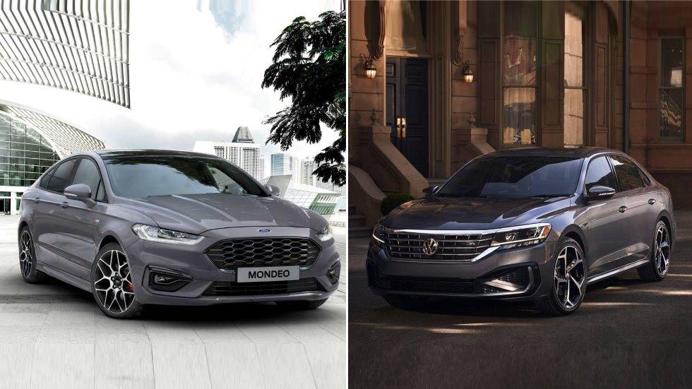 Ford Mondeo vs VW Passat: el gran duelo de nuevas berlinas en 2019