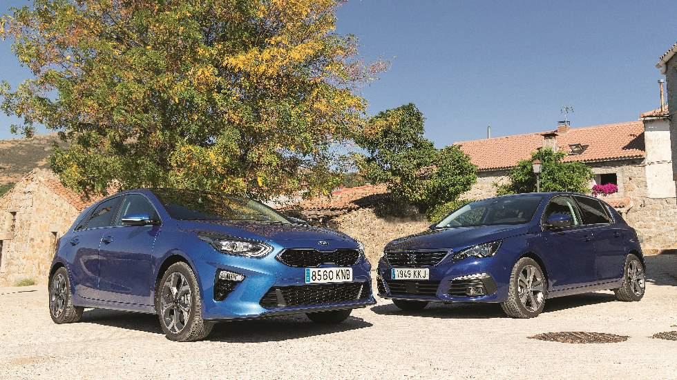 Kia Ceed 1.6 CRDi vs Peugeot 308 1.5 BlueHDI: ¿qué compacto Diesel es mejor?