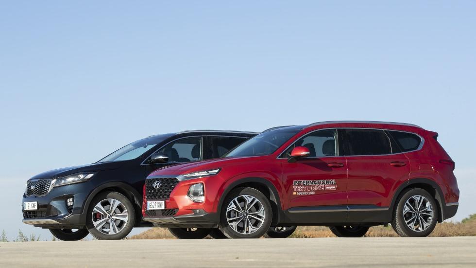 Comparativa: Hyundai Santa Fe vs Kia Sorento, ¿qué nuevo SUV es mejor?