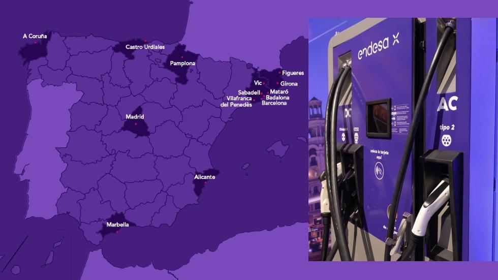 Los aparcamientos de Saba estrenan puntos de recarga para vehículos eléctricos