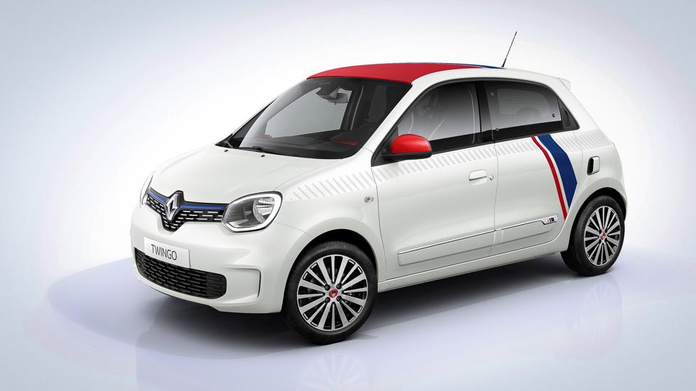 Renault Twingo «le coq sportif»: el automóvil y la moda suman fuerzas