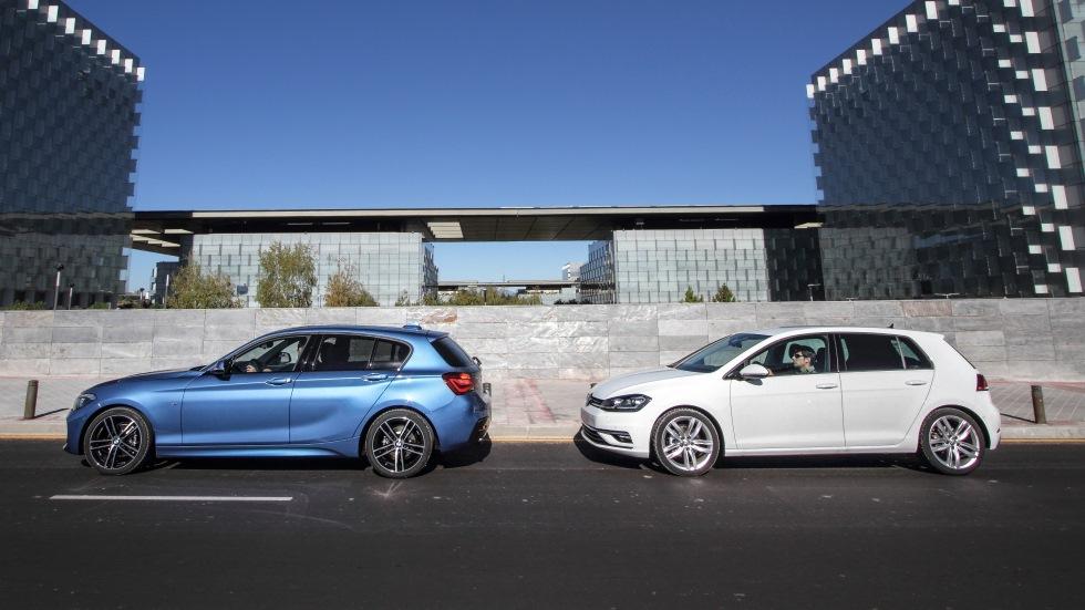 BMW 118d vs VW Golf 2.0 TDI: ¿cuál es el mejor compacto Diesel?