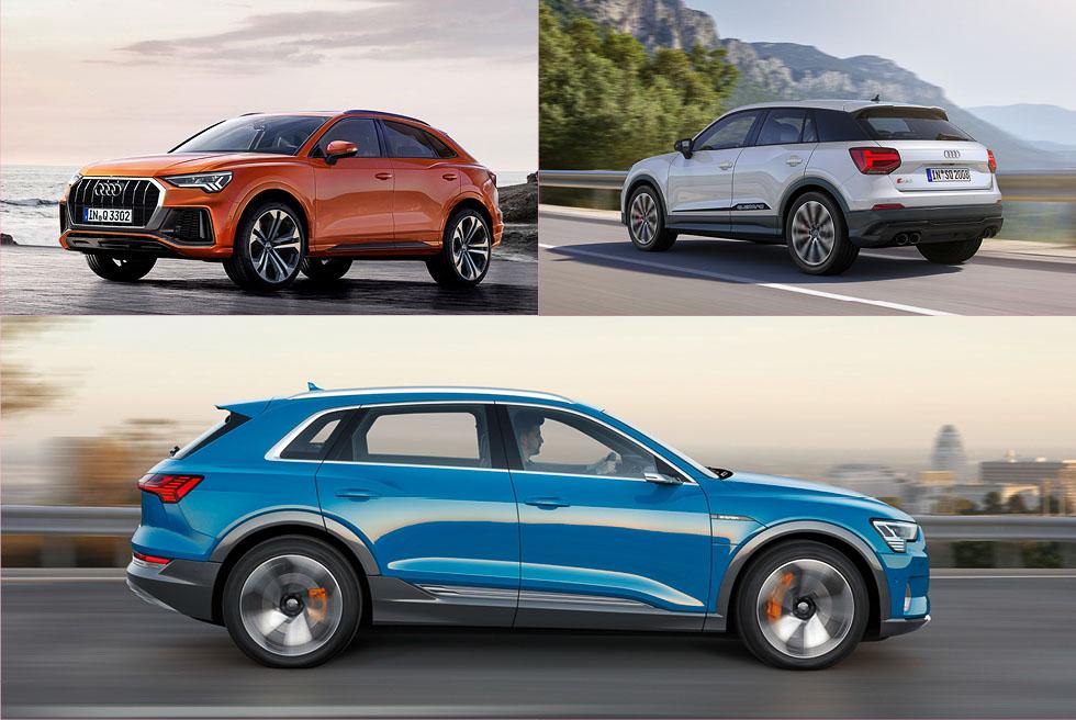 Las 19 novedades Audi para 2019: SUV, eléctricos, deportivos…