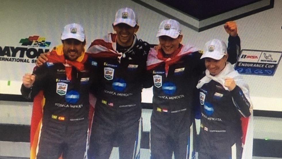 24 Horas de Daytona: ¡victoria para Fernando Alonso!