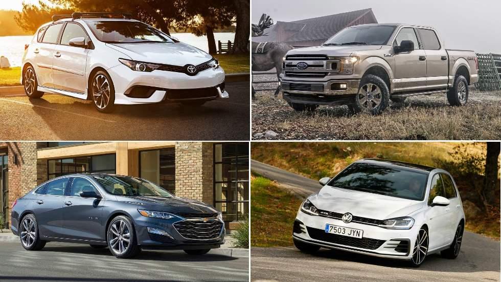 Estos son los 50 coches más vendidos del mundo