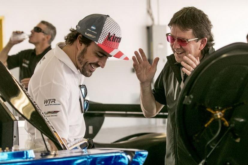 """24 Horas de Daytona: """"Alonso es uno de los pilotos más impresionantes que he conocido"""", reconoce Wayne Taylor"""