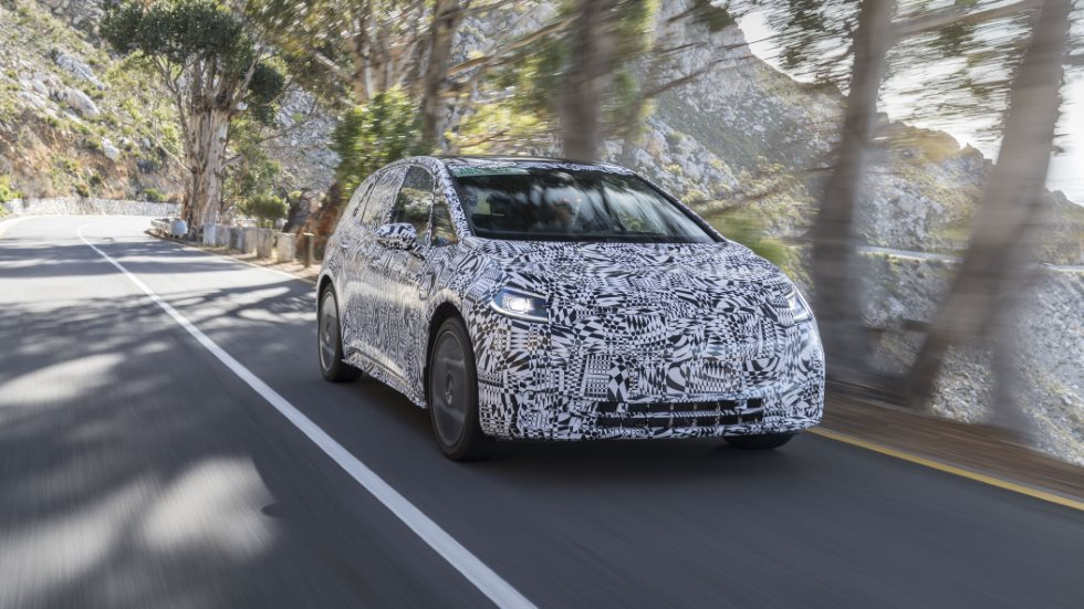 VW ID Neo: probamos, todavía camuflado, el nuevo eléctrico revolucionario