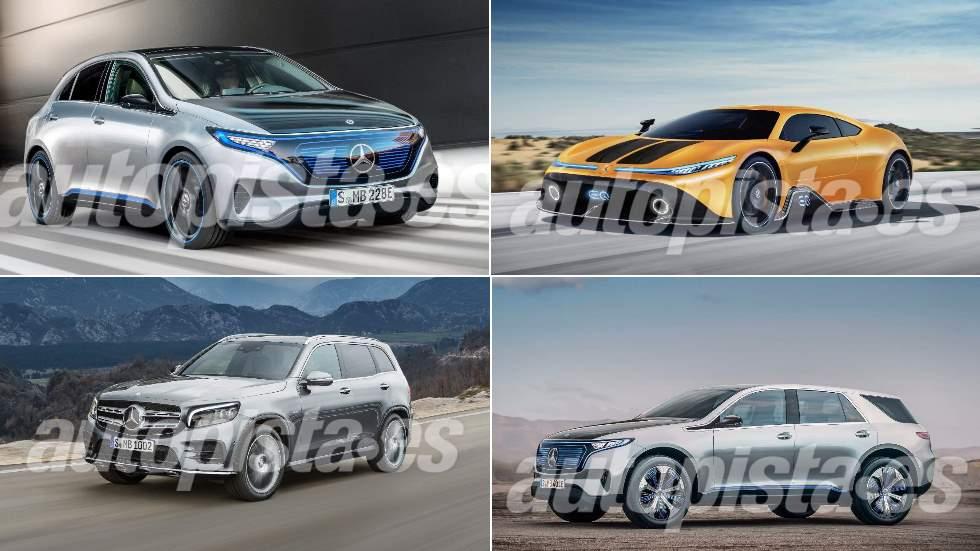 Los nuevos Mercedes que vienen: GLB, GLA Coupé, EQA, EQE, EQC…