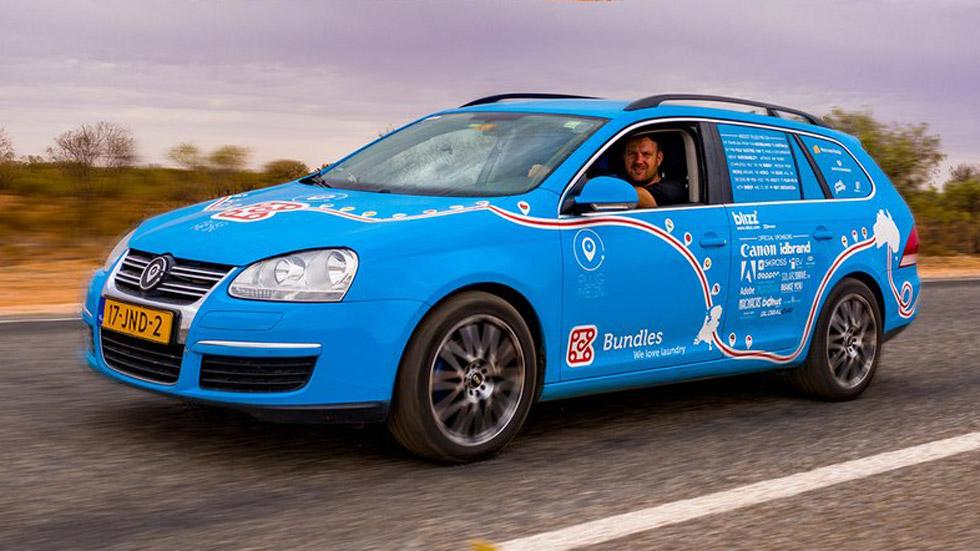 La historia de un conductor que recorrió 89.000 km en un coche eléctrico